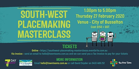 South-West Placemaking Masterclass tickets
