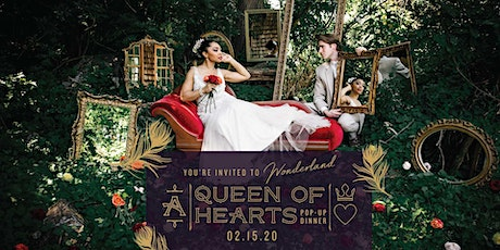 Queen of Hearts Pop-Up Dinner at Ashcombe Mansion tickets