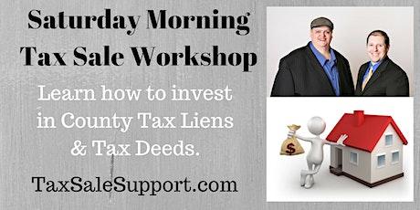 Illinois Tax Lien & Tax Deed Foreclosure (Live Webinar) tickets