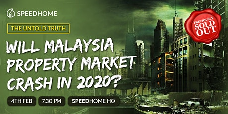 Will Malaysia Property Market Crash in 2020? tickets