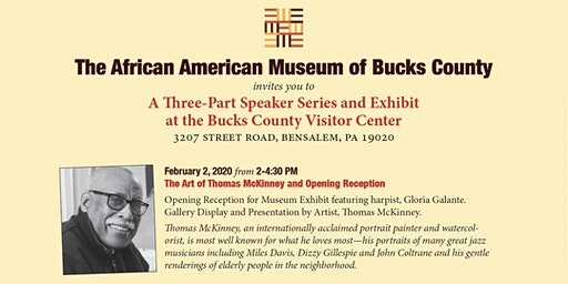 The Art of Thomas McKinney, Speaker Series & Exhibit