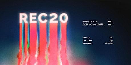 #REC20 tickets