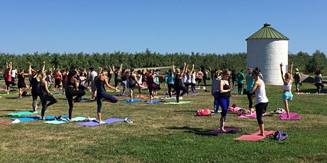Yoga + Apples at Eckert's Family Farms tickets