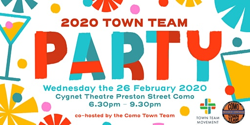 Town Team Party - with Special Guest - David Engwicht