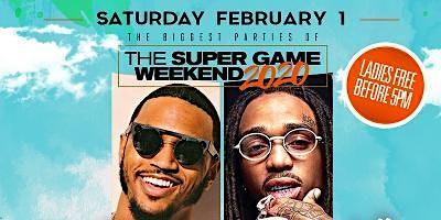 Super Game Saturday Day Party w/Trey Songz & Quavo