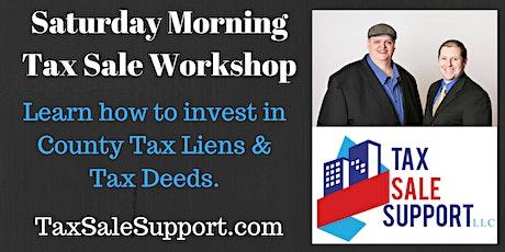 "Florida Tax Liens & Tax Deeds ""Live"" Online Workshop tickets"