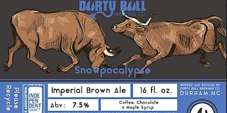 Snowpocalypse! Imperial Brown Ale Release tickets