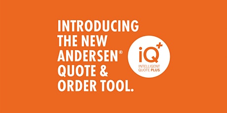 Andersen Windows iQ+ Webinar Training - Chicago, IL Sessions tickets