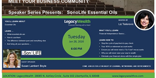 Meet Your Local Business Community Present: Essential Oils