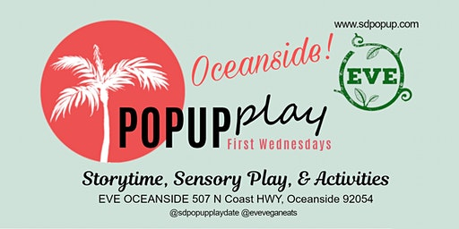 First Wednesday - Toddler Movement & Storytime at Eve Oceanside