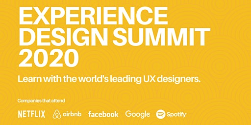 Experience Design Summit 2020