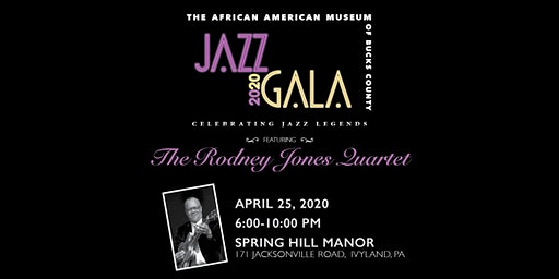 African Americans Museum of Bucks County 2020 Jazz Gala