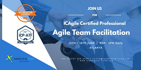 Agile Team Facilitation (ICP-ATF) | Atlanta - June 2020 tickets