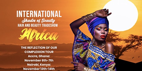 International Shades of Beauty tickets