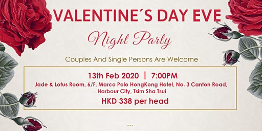 Valentine's Day Eve Night Party