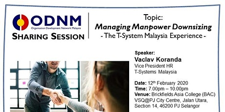 Managing Manpower Downsizing - The T-System Malaysia Experience tickets
