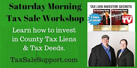 """New Jersey Tax Lien """"Live Webinar"""" with Steve & Shade tickets"""