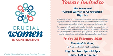 Crucial Women in Construction (CWIC) Inaugural High Tea tickets