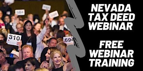 Nevada Tax Lien & Deed Investor  (LIVE WEBINAR) tickets