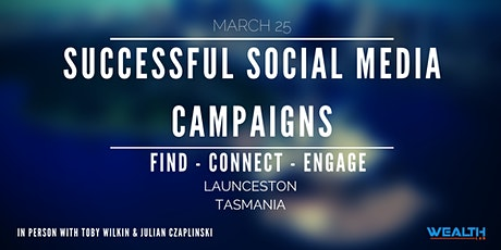 Successful Social Media Campaigns tickets