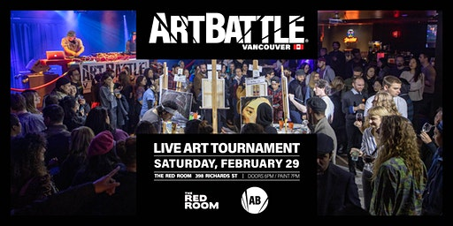 Art Battle Vancouver - February 29, 2020