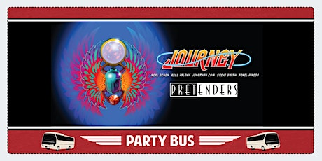 Shoreline Amphitheater Party Bus: Journey & The Pretenders tickets