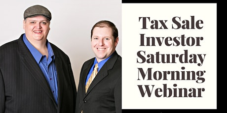 Tax Liens & Tax Deeds with Stephen and Shade tickets