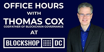 Office Hours with Thomas Cox at BlockShop DC