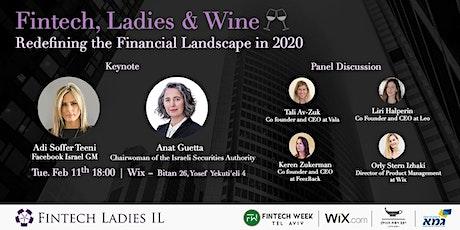 Fintech, Ladies & Wine tickets