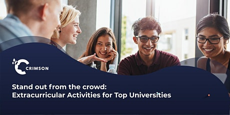 Stand out from the crowd: Extracurricular Activity for Top Universities |TH tickets