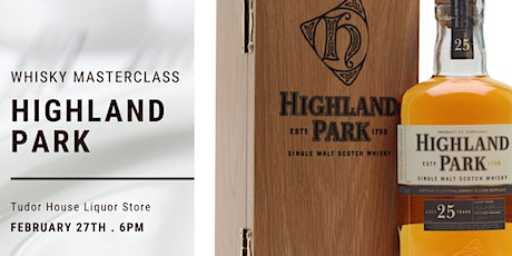Highland Park Masterclass tickets