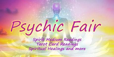 Psychic Fair, Mediums Day - Spirit Readings, Tarot Card and Palm Readings, Spiritual Healings tickets