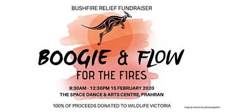 Boogie & Flow for the Fires tickets