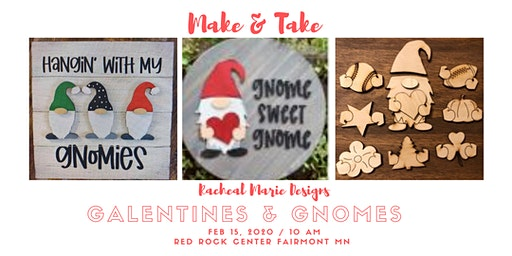 Galentines & Gnomes Make & Take