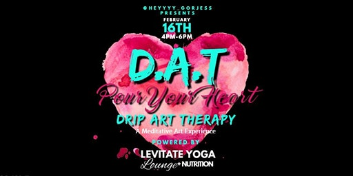 Drip Art Therapy - Pour Your Heart