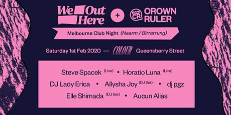 We Out Here x Crown Ruler: Club Night tickets