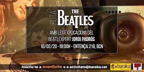 La Ruta Beatles amb Jordi Padrós entradas