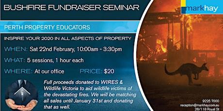 Bushfire Fundraiser Seminar tickets