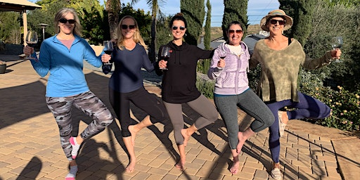 Yoga in the Vines - Cheval Winery