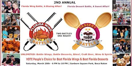 2nd Annual Wing Battle, A Blazing Affair! & Dessert Battle, A Sweet Affair! tickets