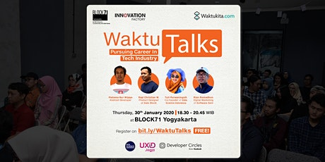 Waktu Talks: Pursuing Career in Tech Industry tickets