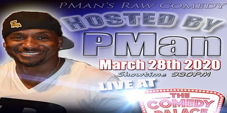 PMan's Raw Comedy Show tickets