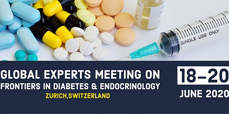 Global Experts Meeting on Frontiers in Diabetes & Endocrinology tickets