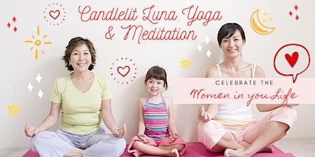 Women's Day Candlelit Luna Yoga & Meditation tickets