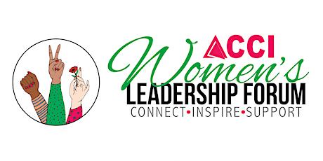 2 Day ACCI Women's Leadership Forum 2020 tickets