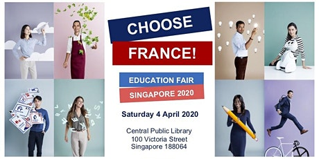 Choose France! Education Fair Singapore 2020 tickets