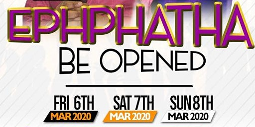 EPHPHATHA - BE OPEN LONDON 2020