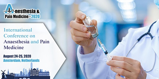 International Conference on Anesthesia and Pain Management