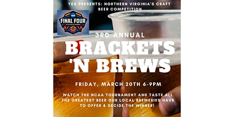 Brackets 'N Brews tickets