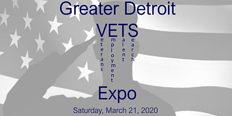 Greater Detroit Veterans Expo tickets